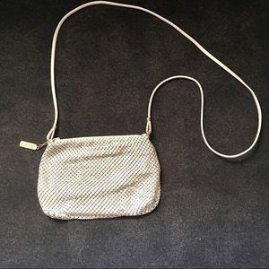 Whiting and Davis Metal Mesh Crossbody Purse